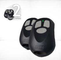 Kit 2 Controles Portão Automático Eletrônico Alarme Rcg -