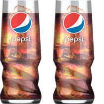 Kit 2 Copos Pepsi Cola Original - Globimport