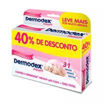 Kit 2 Dermodex Prevent Creme Prevenção de Assaduras 60g -