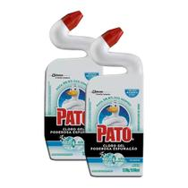 Kit 2 Desinfetante Pato Uso Geral Cloro Gel Marine 500ml -