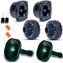 Kit 2 Driver + 2 Tweeter+ 2 Corneta Curta + Capacitores - ORION