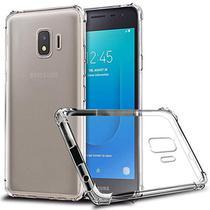 Kit 2 em 1 Capinha Anti Shock Samsung Galaxy J2 Core + Película de Silicone/Gel -