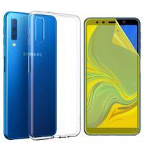 Kit 2 em 1 Capinha Galaxy A7 2018 Ultra Fina + Película De Gel - Samsung