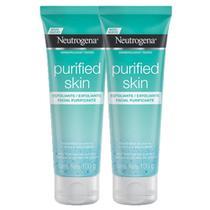 Kit 2 Esfoliantes Facial Neutrogena Purified Skin 100g -