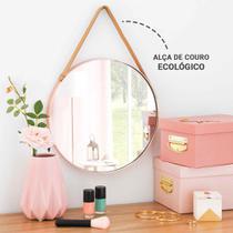 Kit 2 Espelho Redondo Decorativo Adnet Pendurar 35 e 45cm - Fwb