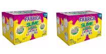 Kit 2 Fabrica De Slime Kimeleka Crunch Arco Iris Acrilex - Artkids -