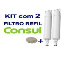 Kit 2 Filtro Refil Consul Compativel Cpc31 Cpb34 Cix06ax - Purisul Ind.
