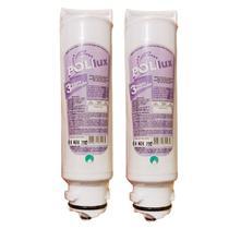 Kit 2 Filtro Refil Para Purificador de Água Electrolux PA10N, PA20G, PA25G, PA30G e PA40G - Policarbon