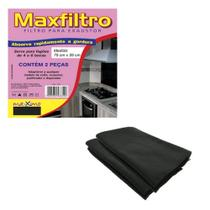 Kit 2 Filtros Para Exaustor Coifa Universal Absorve Gordura - Maxximo