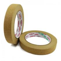Kit 2 Fitas de papel  Crepe Adelbras 24mm X 50m Kraft -