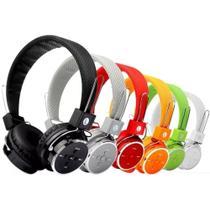 kit 2 Fone Ouvido Bluetooth Sem Fio Chamada Micro Sd Fm P2 Mp3 B05 - B-05