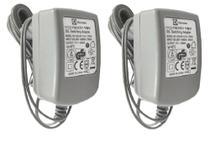 Kit 2 Fontes Carregador Orig Eletrolux Aspirador Ergorapido 17v 200ma Erg10 Erg11 Erg14 Erg13 Erg12 - Electrolux