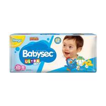 KIT 2 FRALDAS BABYSEC GALINHA PINTADINHA XG/32 = 64un - Baby Sec