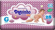 Kit 2 Fraldas Diguinho Plus Economica G - 28 Unidades Barato -