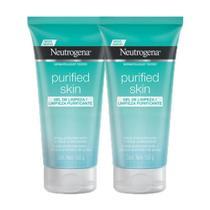 Kit 2 Gel de Limpeza Neutrogena Purified Skin 150g -