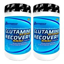 Kit 2 Glutamine Science Recovery Powder 600g Performance - Performance Nutrition