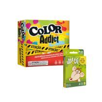Kit 2 Jogos de Cartas Copag Color Addict + Mico -