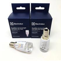 Kit 2 Lâmpada Led E14 Geladeira Electrolux Original 1,4w -