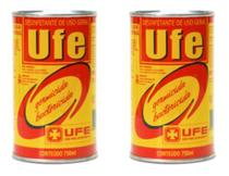 Kit 2 Latas Desinfetante Bactericida Ufe Creolina 750 Ml -