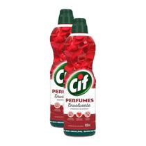 Kit 2 Limpadores Uso Geral Cif Envolvente Perfumes 900ml -