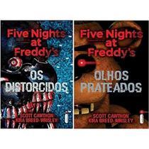 Kit 2 Livros Five Nights At Freddys Prateados Distorcidos - Intrinseca