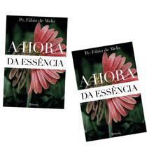Kit 2 Livros Hora Da Essência Padre Fabio De Melo -