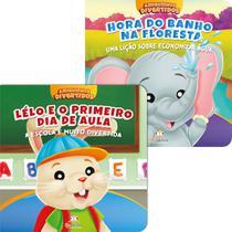 Kit 2 Livros Infantis Amiguinhos Divertidos Blu Editora -