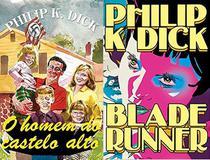 KIT 2 LIVROS Philip K. Dick O Homem do Castelo Alto + Blade Runner - Aleph