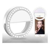 Kit 2 Luz Selfie Ring Light Clipe Anel Led Flash Celular -