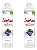 Kit 2 Lysoform Desinfetante Spray Aerosol 360ml Original - Sc Johnson