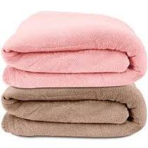 Kit 2 mantas soft cobertor micro fibra casal queen 2,40m x 2,20 - MTM ENXOVAIS