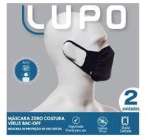 Kit 2 Mascaras Lupo Sem Costura -