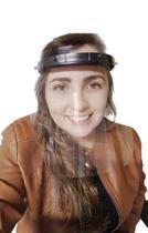 Kit 2 Máscaras Proteção Facial Acrílico Protetor Facial Viseira Face Shield - Própria