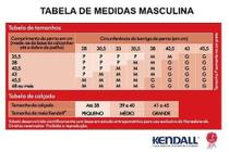 Kit 2 Meias 3/4 Kendall Média Compressão Masculina 1802 -