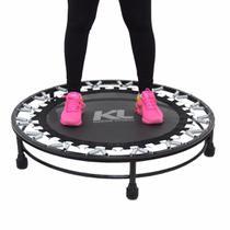 Kit 2 Mini Cama Elástica Jump Profissional 150 Kg e Dvd - Kl Master Fitness