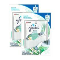 Kit 2 Odorizador de Ambiente Glade Pendure e Perfume Águas Florais -