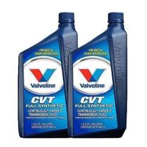 Kit 2 oleo cambio transmissao automatica valvoline cvt fluido sintetico 946 ml cada - kit00328 -