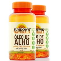Kit 2 Óleo de Alho 1500mg Sundown 100 cápsulas - Sundown naturals vitaminas