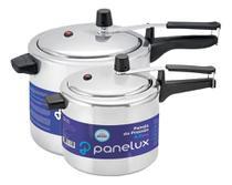 Kit 2 Panelas de Pressão 7L + 4,5l Alumínio Polido Panelux -