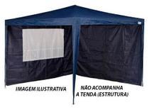 Kit 2 paredes tenda gazebo azul 3x3m - Mor