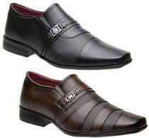 Kit 2 Pares Sapato Torani Masculino Terni -