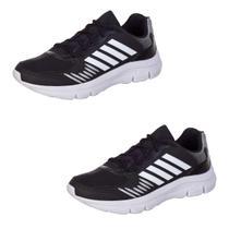 Kit 2 Pares Tenis Infantil Masculino Ultra Leve - AS261 - Algarte Shoes