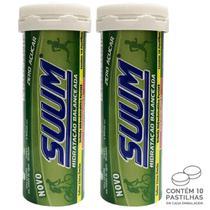 Kit 2 Pastilha de Bebida Hidroeletrolítica Suum Limão -