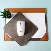 Kit 2 peças rique a4 + mouse pad prata velho+ castor - Apparatos