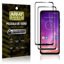 Kit 2 Películas de Vidro Blindada 3D Full Cover Moto One Action - Armyshield -
