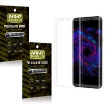 Kit 2 Películas de Vidro Curvada Samsung S8 Plus - Armyshield -