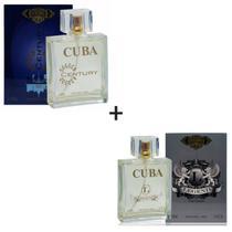 Kit 2 Perfumes Cuba 100ml cada  Century + Legend -