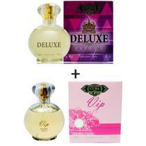 Kit 2 Perfumes Cuba 100ml cada  Deluxe + Vip -