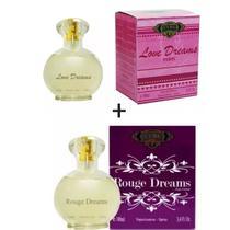 Kit 2 Perfumes Cuba 100ml cada  Love Dreams + Rouge Dreams -