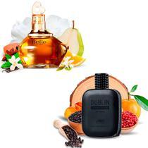 Kit 2 Perfumes Importados Belle e Dublin I Scents -